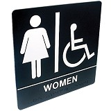 Tactile and Braille Signs