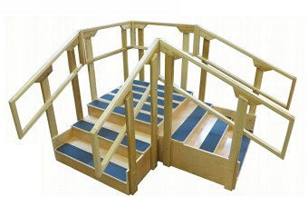 Training Stairs Step Climber Physical Therapy Stairs