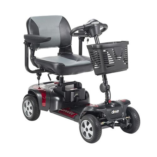 Drive Medical Phoenix HD4 4-Wheel Heavy Duty Travel Scooter