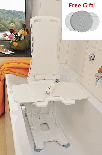 and for lift bathtub chair lifts lowered popular position in beluga reclined tub