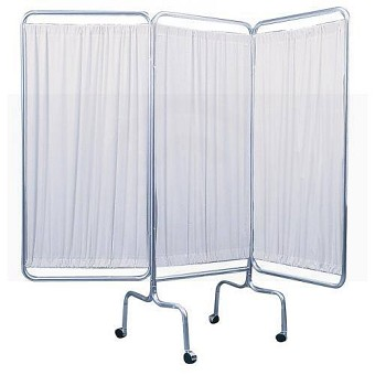Temporary Hospital Rooms With Curtains