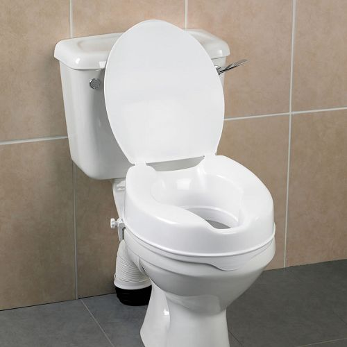 Swell Savanah Raised Toilet Seat With Lid Gmtry Best Dining Table And Chair Ideas Images Gmtryco