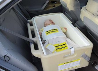 Child Restraint Bunting for Hope Infant Special Needs Car Seat Bed