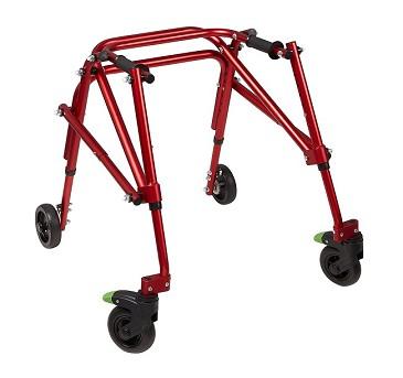 Klip Pediatric 4-Wheeled Posterior Walker and Gait Trainer