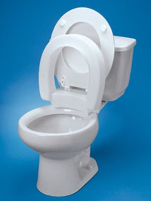 Excellent Maddak Hinged Elevated Toilet Seat Beatyapartments Chair Design Images Beatyapartmentscom