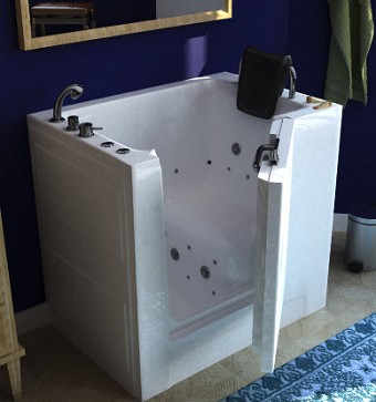 Walk In Bathtub Whirlpool Bathtubs Jetted Tub