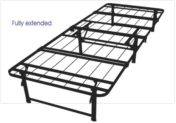 Best Folding Bed Frames For Full Queen Amp King Size Beds