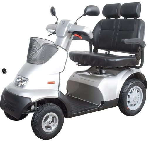 Afiscooter S 4-wheel with dual seat