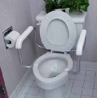 Bathroom Safety Grab Bars Shower Rails Raised Toilet