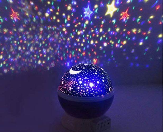 Star Projector Nightlight 360 Rotating