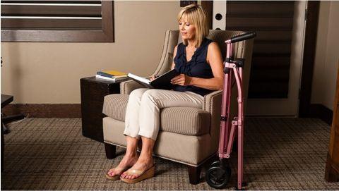 Tremendous Ez Fold N Go Height Adjustable Lightweight Travel Walker Gamerscity Chair Design For Home Gamerscityorg
