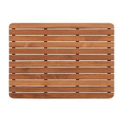 Teak Wood Bath And Shower Mat Free Shipping
