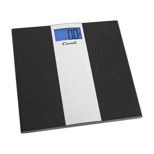 Escali Ultra Thin Bathroom Scale Free