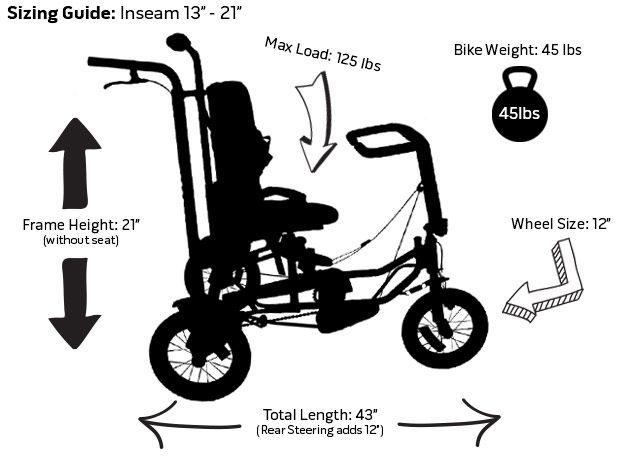 Discovery Series DCP 12 Pediatric Trike