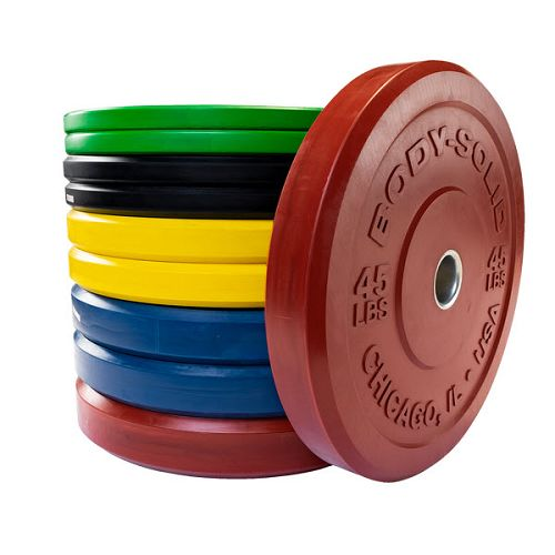 Body-Solid Chicago Extreme Bumper Plates Combo Pack