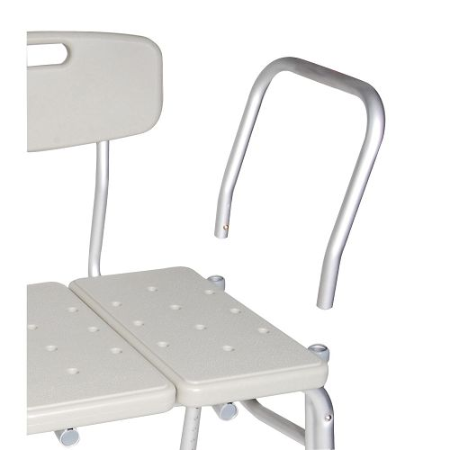 Superb Drive Medical Plastic Tub Transfer Bench With Backrest Ibusinesslaw Wood Chair Design Ideas Ibusinesslaworg